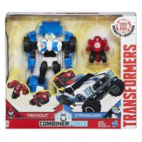 transformers - trickout y strongarm - pack 2 figuras activator combiners