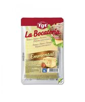 queso emmental en lonchas la bocateria - 100g aprox