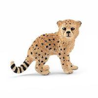 schleich  guepardos baby 14747