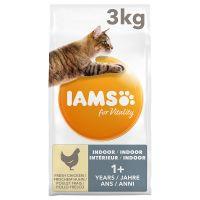 iams for vitality adult indoor con pollo fresco - 3 kg