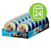 sheba feine filets 24 x 80 g comida humeda para gatos - filetes de atun