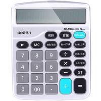 deli 1532 computadora de voz humano voz 12 bits pantalla grande economica calculadora soporte calendario de alarma