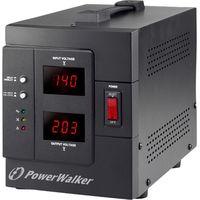 avr 1500siv regulador de voltaje 2 salidas ac 230 v negro