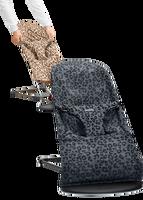 babybjorn hamaca con asiento de tela adicional - leopard bundle mallaalgodon
