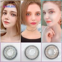 jewelens colored contact lenses color lens for eyes colorful cosmetic con natural gray series