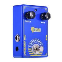 pedal de efecto de guitarra dolamo d-3 super chorus pedal de coro con true bypass para guitarra electrica