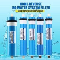 5075100125400gpd home kitchen reverse osmosis ro membrane replacement water system filter water purifier drinking treatment