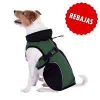 abrigo softshell para perros - 35 cm aprox de longitud dorsal