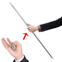 shocker self defense security stick telescopic defensa personal metal manual telescopic rod survival pole