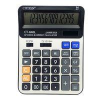 gtttzen ct-840l solar calculadora para oficina y estudiantes