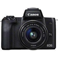 canon eos m50 milc 241 mp cmos 6000 x 4000 pixeles negro