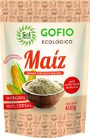 solnatural gofio de maiz integral bio 400 g