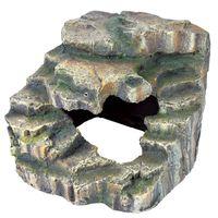 trixie roca esquinera 19x17x17 cm resina de poliester 76195
