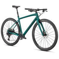 specialized bicicleta gravel diverge e5 expert evo s satin pine  forest  chrome  clean