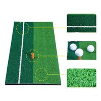 alfombrilla de golf de 60x30 cm ayudas para entrenamiento de golf al aire libre alfombrilla de golpe para interiores
