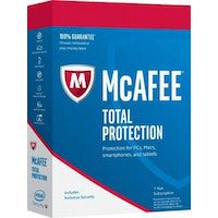 mcafee mcafee total protection 2018 1 pc