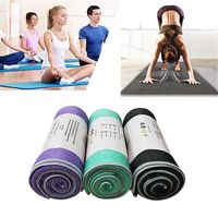 kaloadmicrofibrayogatoallasilicede lado doble antideslizante sudor pilates absorbentes aptitud yoga