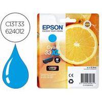 cartucho epson t3362 33xl color cian c13t336240
