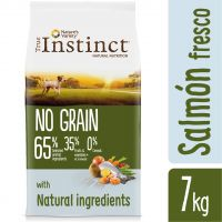 true instinct no grain mini con salmon  - comida humeda buey pollo y pavo 4 x 150 g