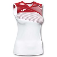 joma camiseta sin mangas supernova ii xl white  red