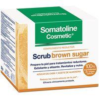 somatoline exfoliante  peeling scrub exfoliante complemento reductor brown sugar 350 gr 350 g para mujer