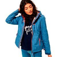 chaquetas superdry hooded sherpa windtrekker