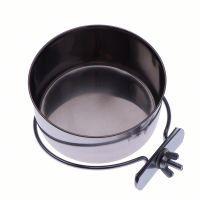 comedero de acero para pajaros - 015 litros diametro 7 cm