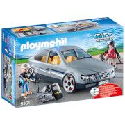 playmobil city action swat undercover car with removeable flashing blue light 9361