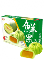 sakura mochis rellenos de crema de melon