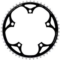 ta 130 pcd alize outer chainrings 54-56t - negro - 5-bolt negro