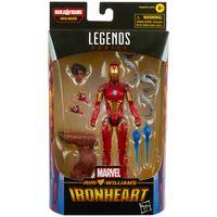 hasbro marvel legends series iron man ironheart action figure