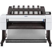 hp designjet t1600 impresora de gran formato color 2400 x 1200 dpi inyeccion de tinta termica 914 x 1219 mm ethernet