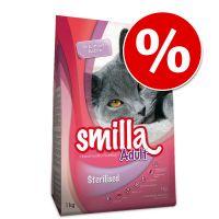 smilla 2 x 10 kg pienso para gatos - pack ahorro - indoor