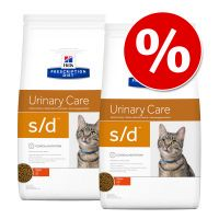hills prescription diet feline pienso para gatos - pack ahorro - td 2 x 5 kg