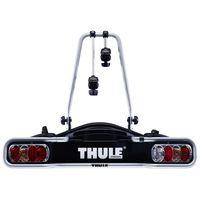 thule portabicicletas euroride 13-pin para 2 bicicletas 2 bikes black  aluminium