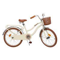 bicicleta vintage marron 20 pulgadas