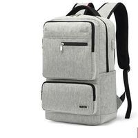 outwalk business mochila casual simple carga multifuncion usb version coreana laptop de viaje para hombres de gran capacidad bolsa
