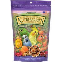 alimento para aves nutri berries huerto soleado especial para ninfas y aves medianas 284 gr