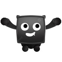 x7 little devil gravity car phone holder universal car mount stand for iphone xiaomi huawei -  black