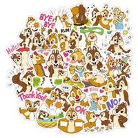cute creative 40 chip n dale stickers cute childrens cartoon stickers hand book stickers mobile computer stickers