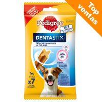 pedigree dentastix cuidado dental diario snacks para perros - perros pequenos 28 uds