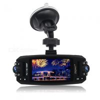 ziqiao jl-f80 full hd 1080p 27 inches wdr car dvr video camcorder w 170 degree rotation night vision rotating dual lens