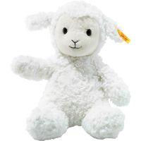 soft cuddly friends fuzzy cordero felpa sintetico blanco peluches