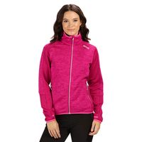 regatta laney v knit effect womens fleece jacket