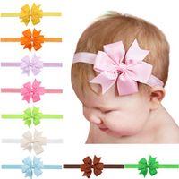 yundfly cute ribbon bow headband baby girls bowknot hair bands hair bows children hair accessories photo props birthday gift