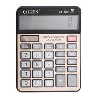 calculadora electronica gtttzen cy-12m de doble potencia calculadora electronica 12 digitos teclas de computadora oficina de computadora