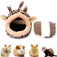 cama para mascotas pequena jirafa gato perro casa para dormir perrera puppy cave mat pad nidos
