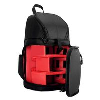 luz pro sling bolsa hombro cross impermeable resistente al agua con cubierta para lluvia para canon para nikon para sony