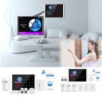 wifi para el hogar gsm gprs sistema de alarma de seguridad para el hogar marcacion automatica  pir sensor