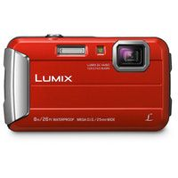 panasonic lumix dmc-ft30 camara compacta 161 mp ccd 4608 x 3456 pixeles 1233 pulgadas pulgadas rojo